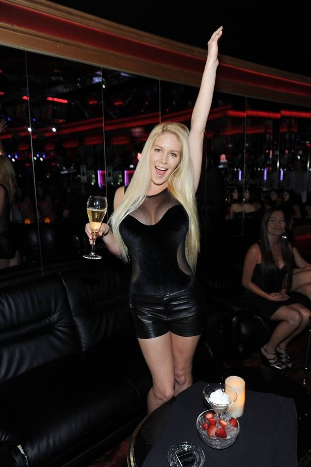Heidi Montag Hosts Crazy Horse III's Three Year Anniversary Party In Las Vegas