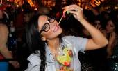"Jenni ""JWoww"" Farley shows off engagement ring while eating gummy worms."