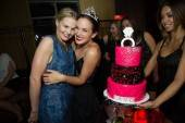 Actress Jennifer Morrison helps her friend Lauren Whelan celebrate her bachelorette party at Lavo. Photos: Al Powers/Powers Imagery