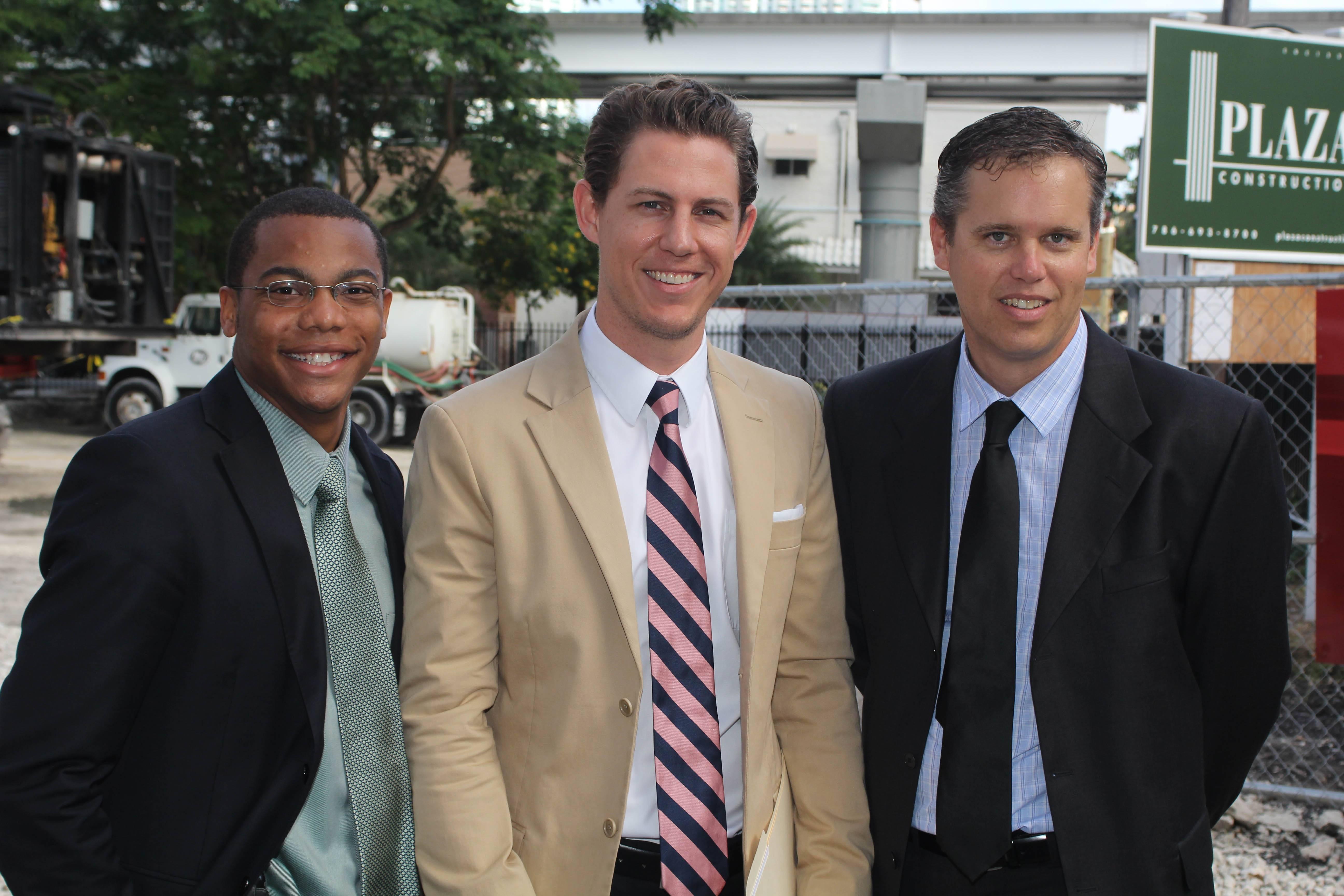 Jeve Clayton, John Heffernan, Aaron Sinnes