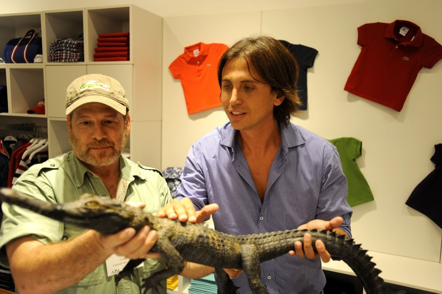 Jonathan Cheban, Crocodile (1)