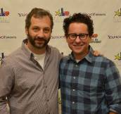 "Bogart Pediatric Cancer Research Program's ""A Day Of Champions"" Children's Choice Award Presented To Judd Apatow And Leslie Mann"