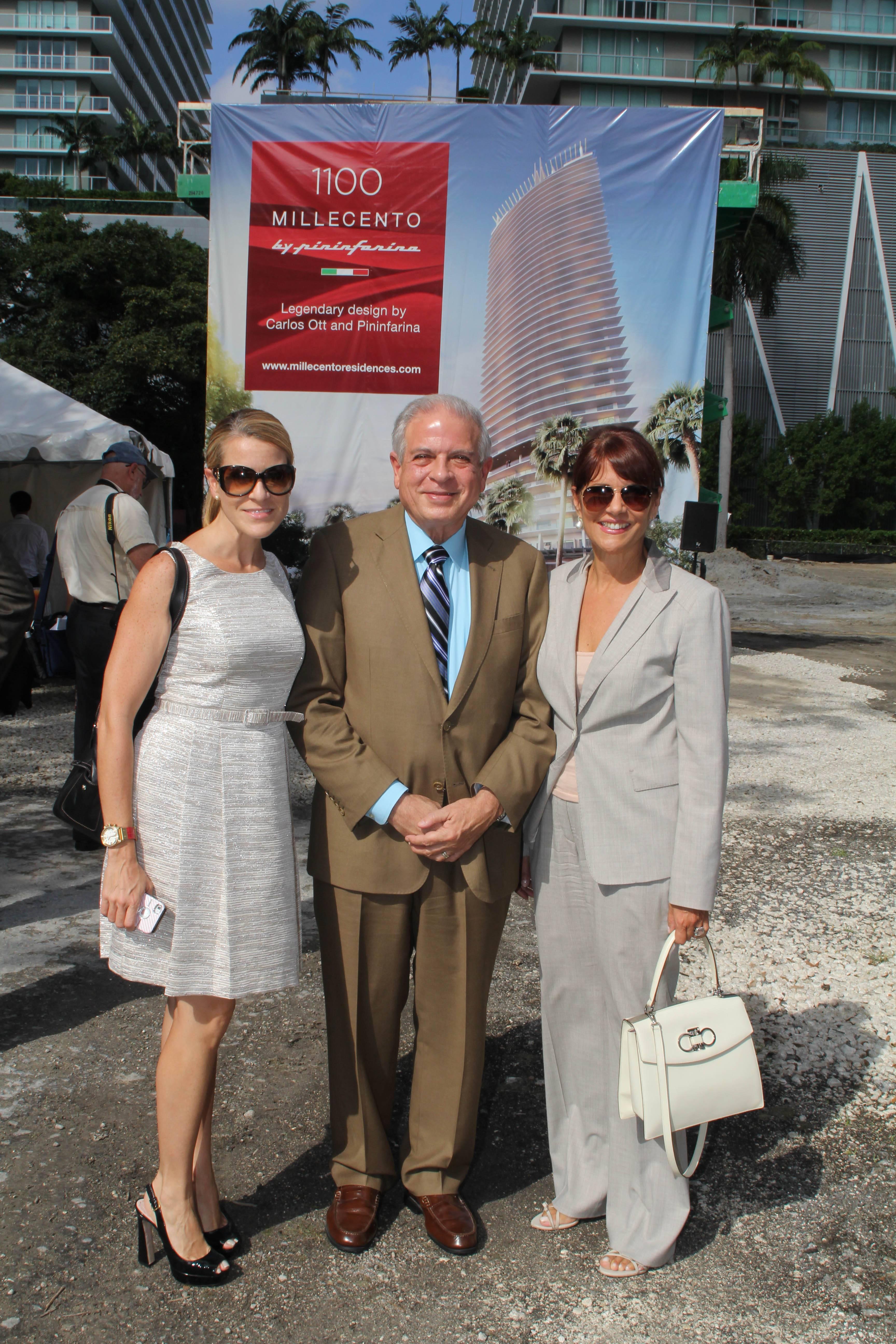 Liza Walton, Mayor Regalado, Sonia Figueroa