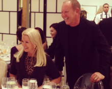 Blaine Trump at a luncheon previewing his new Resort collection! –Michael Kors