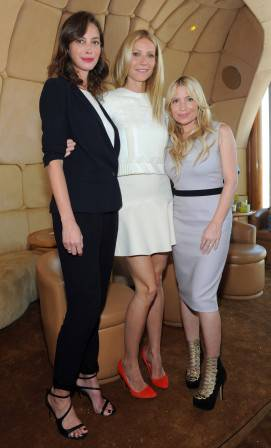 Christy Turlington Burns, Gwyneth Paltrow, Tracy Anderson