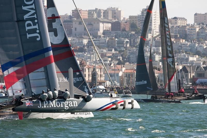 Race near San Francisco shore