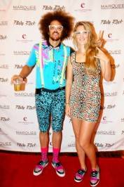 Victoria Azarenka and Redfoo_Marquee