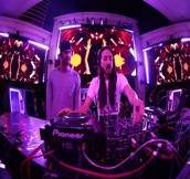 Haute Event: Michael Phelps Returns to XS Nightclub to Spin with Aoki