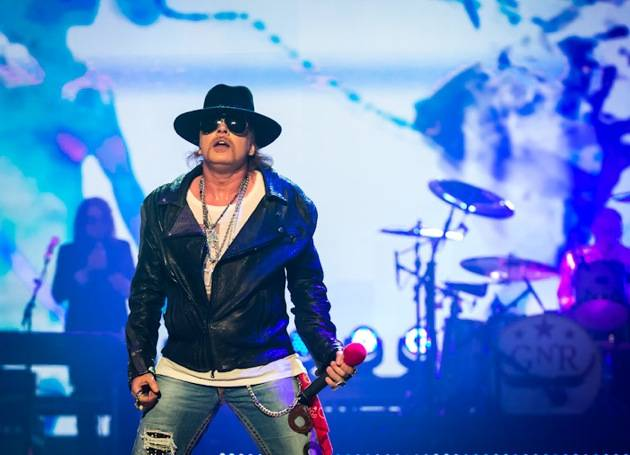 Guns N' Roses kick off residency at The Joint at Hard Rock Hotel in Las Vegas, NV