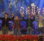 The Grove Holds Its Annual Star-Studded Christmas Tree Lighting Extravaganza
