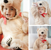 Baby Jackson was The most cuddly Teddy Bear for Halloween :) —Adrienne Bosh