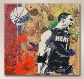 """Art of Basketball"" Celebrates Heat Championship with Exhibit for Art Basel Miami Beach"