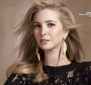 Harper's Bazaar shoot in China. —Ivanka Trump