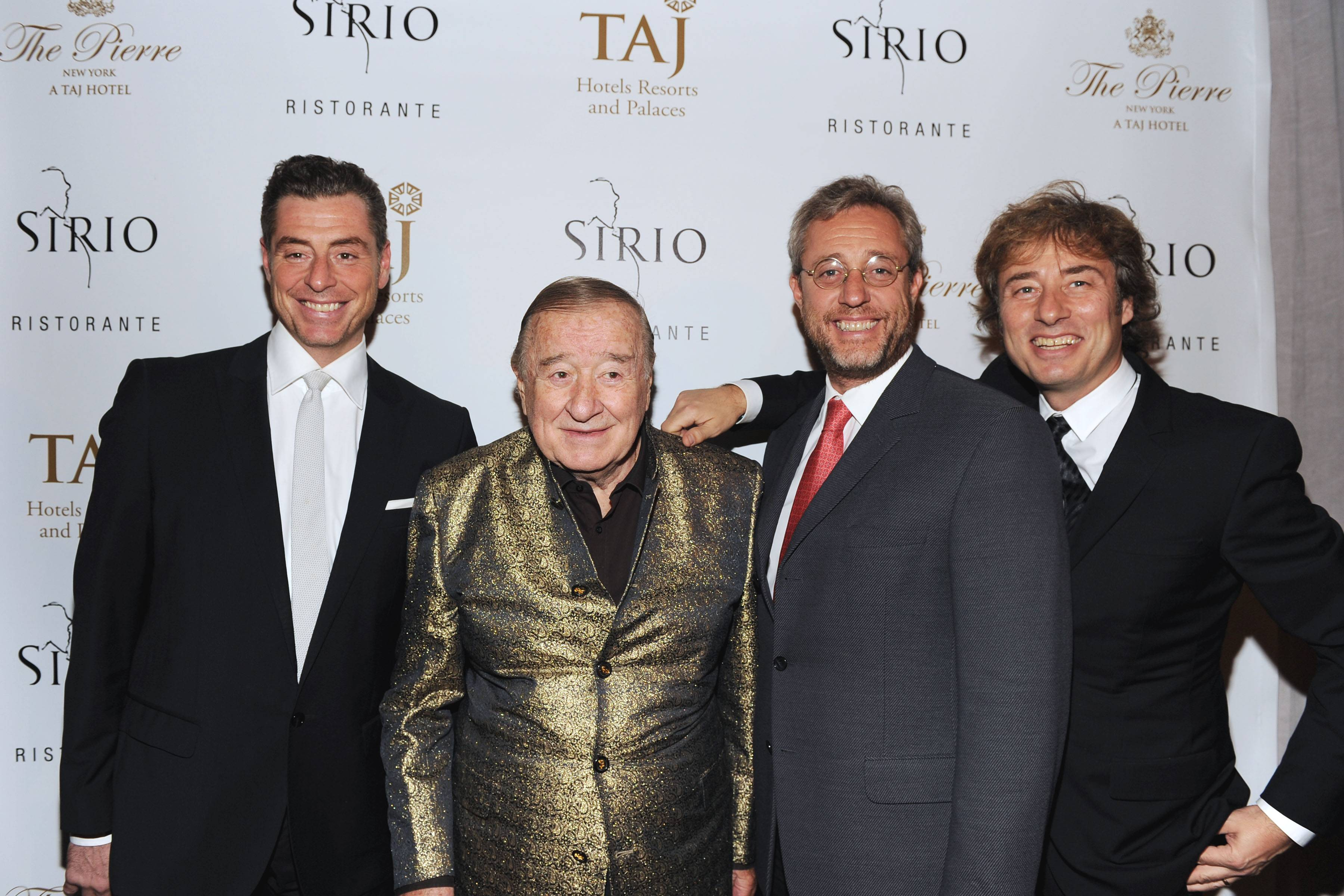 Grand Opening of SIRIO RISTORANTE At The Iconic PIERRE, A TAJ Hotel