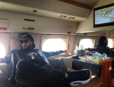 AMA Take Off Time. —Swizz Beatz