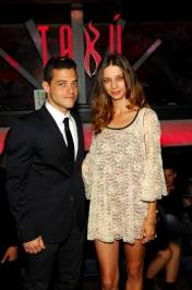Rami Malek and Angela Sarafyan