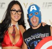 Haute Event: Urijah Faber and Arianny Celeste Host the Official UFC Halloween Party at Lavo