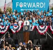 Photos: Barack Obama Brings Eva Longoria, Sheila E to His Grassroots Rally
