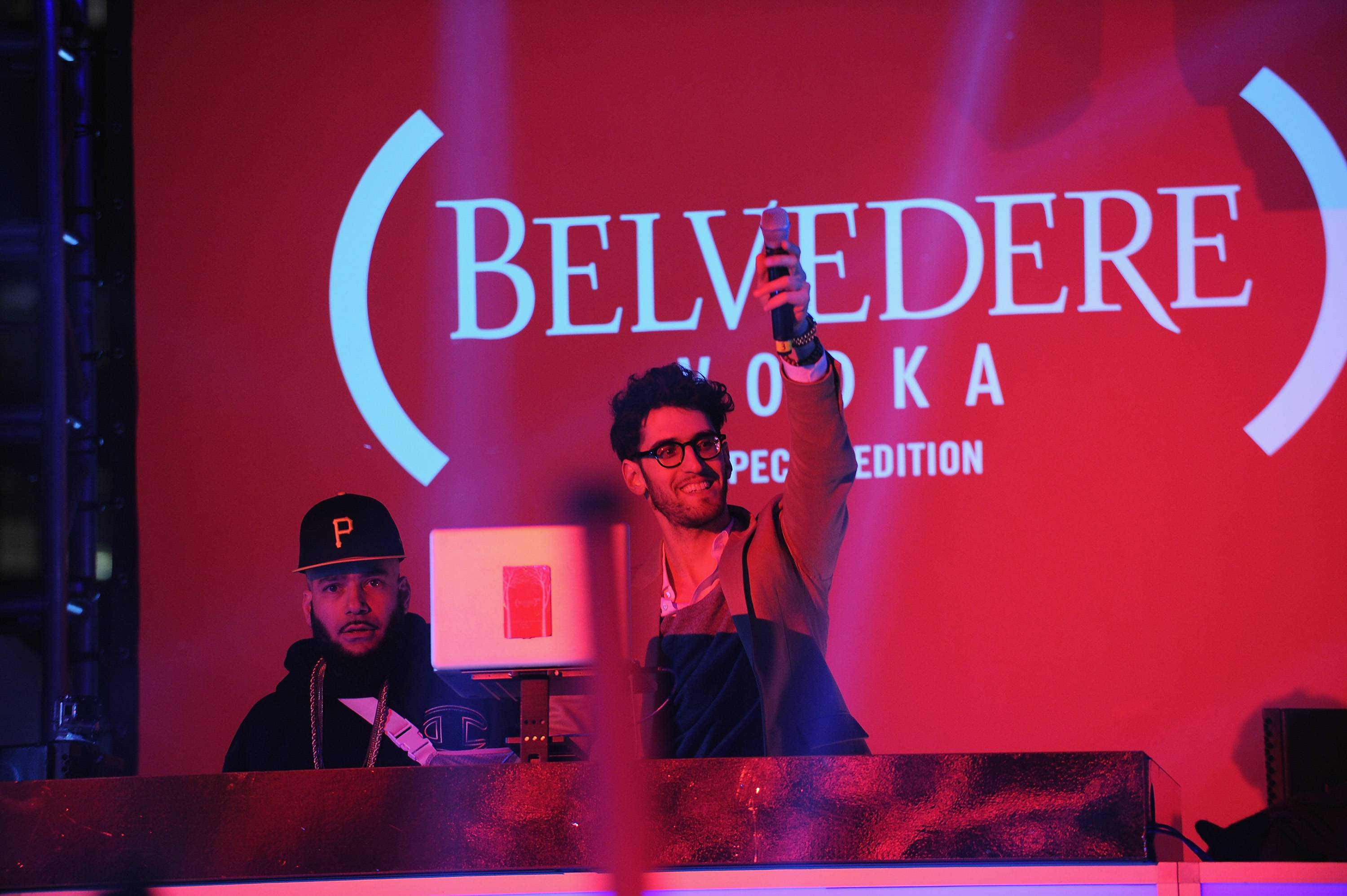 Belvedere Vodka Turns The Meatpacking District (RED) for World AIDS Day