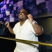 CeeLo Green performs at Chateau Nightclub.