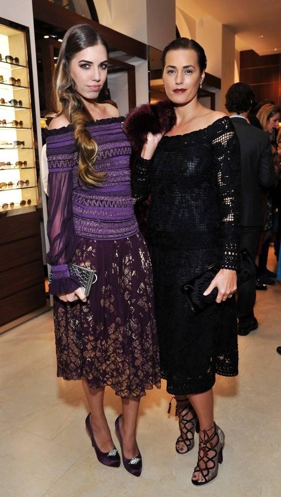 Salvatore Ferragamo Celebrate Bond Street Re-Opening With Jessica Alba ...