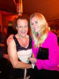 Richard Simmons and I made love at my holiday xmas party.—Chelsea Handler
