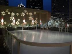 Peninsula Debuts Skating Rink