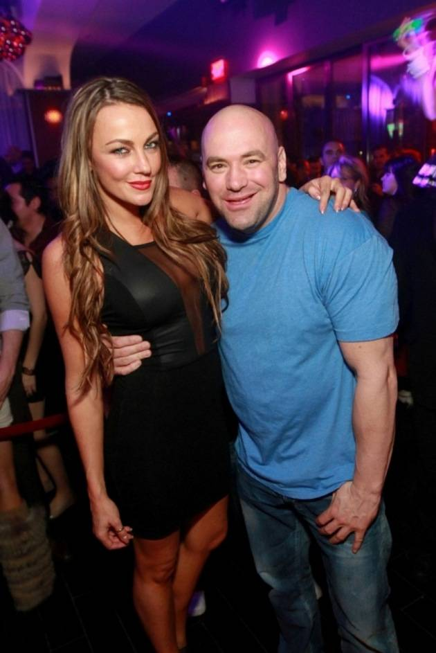 Dana White parties at Hyde Bellagio, Las Vegas, 12.30.12