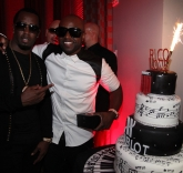 P. Diddy and Celebrity Friends Celebrate Rico Love's 30th Birthday at SLS Hotel in South Beach