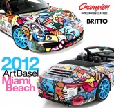 Romero Britto Partners with Champion Porsche for 2012 Art Basel Miami Beach