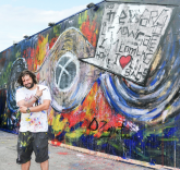Domingo Zapata Unveils Mural to Kick Off Art Basel Miami Beach