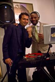 Kamal Hotchandani and DJ Irie