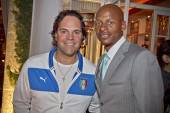 Mike Piazza and Ray Allen