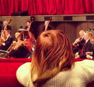 Baby at the Opera.  Christmas in Vienna. —Ivanka Trump