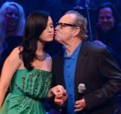 Katy Perry Gets a Kiss From Jack Nicholson at Carole King Tribute