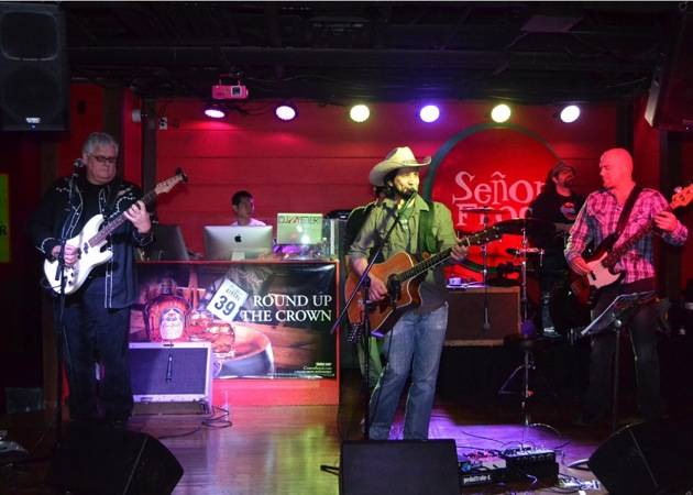 Just Dave Band performs at Senor Frog's Las Vegas