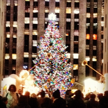 On Fifth Avenue at Christmas. —Melania Trump