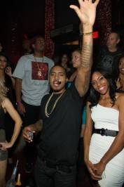 Nas performs at Tao Nightclub.