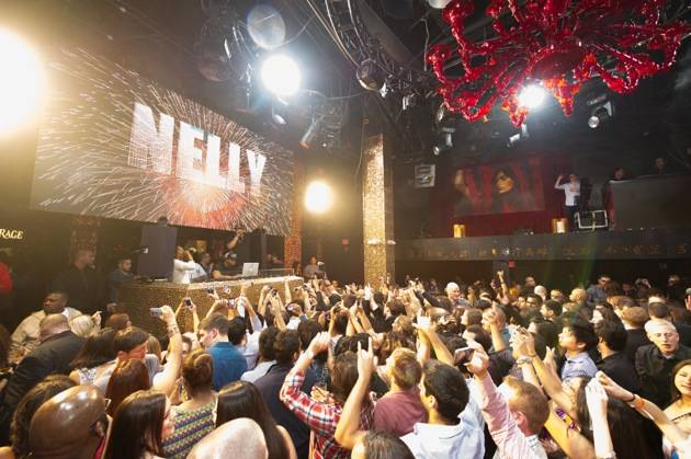 Nelly performs at Tao