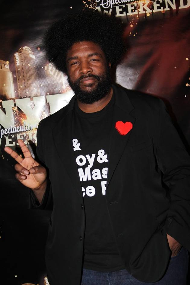 Questlove of The Roots at Moon Nightclub in Palms Casino Resort credit Joe Fury