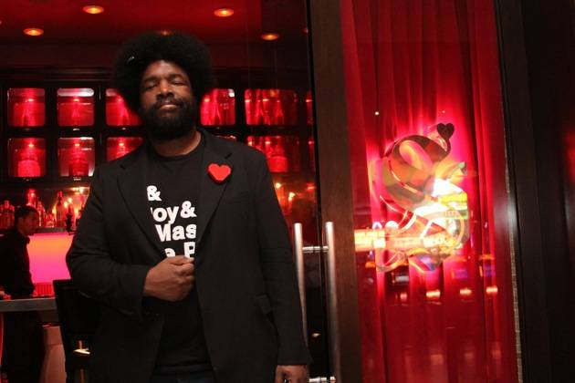 Questlove of The Roots at Scarlet in Palms Casino Resort credit Joe Fury