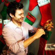 Stuffing my coworkers' stockings. —Ryan Seacrest
