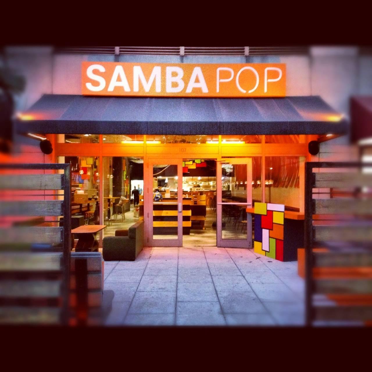 sushi samba pop up restaurant samba pop to open for art basel miami beach haute living. Black Bedroom Furniture Sets. Home Design Ideas