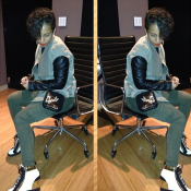 Look who came in the studio swaging on me.—Swizz Beatz