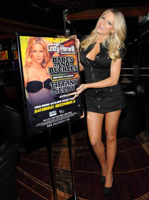 "Tiffany Selby hosts""Babes and Buckles"" bash at Crazy Horse III, Las Vegas, America - 08 Dec 2012"