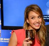 Jessica Alba Toasts the Golden Globes' 70th Anniversary with 2004 Vintage Brut Moët & Chandon