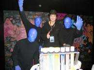 Celebrity Spotting: Terry Bozzio of Missing Persons Checks Out Blue Man Group