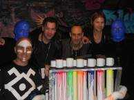 Celebrity Spotting: Street Drum Corps Checks Out the Blue Man Group
