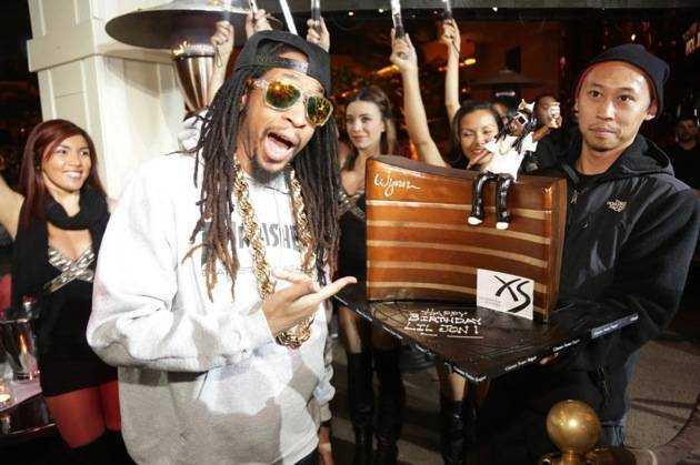 1.21.13 - Lil Jon - birthday at XS - photo credit Danny Mahoney