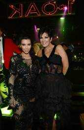 Kim Kardashian and Kris Jenner